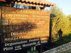 caseificio sign