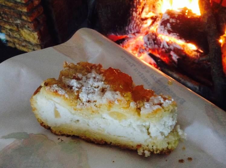 Pear and Ricotta tart from Fattoria del Casaro