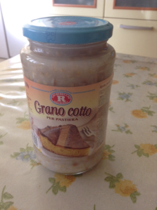 Grano Cotto - cooked wheat as you find it in Italy