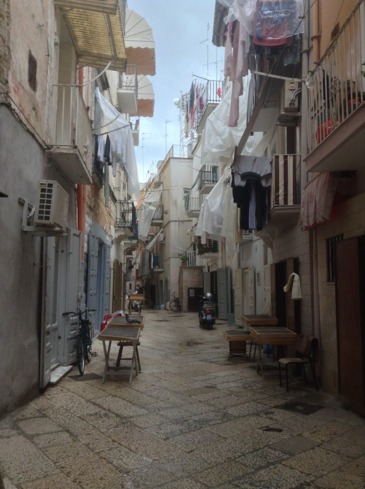 The old town of Bari