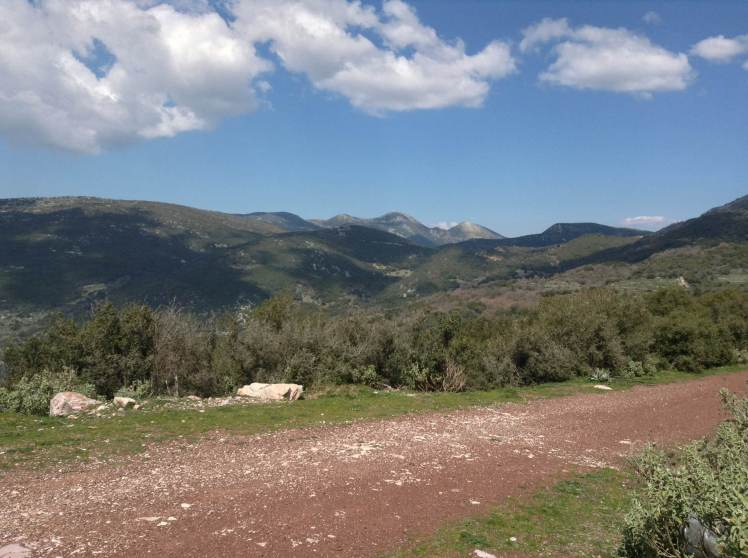 Incredible mountainous landscape
