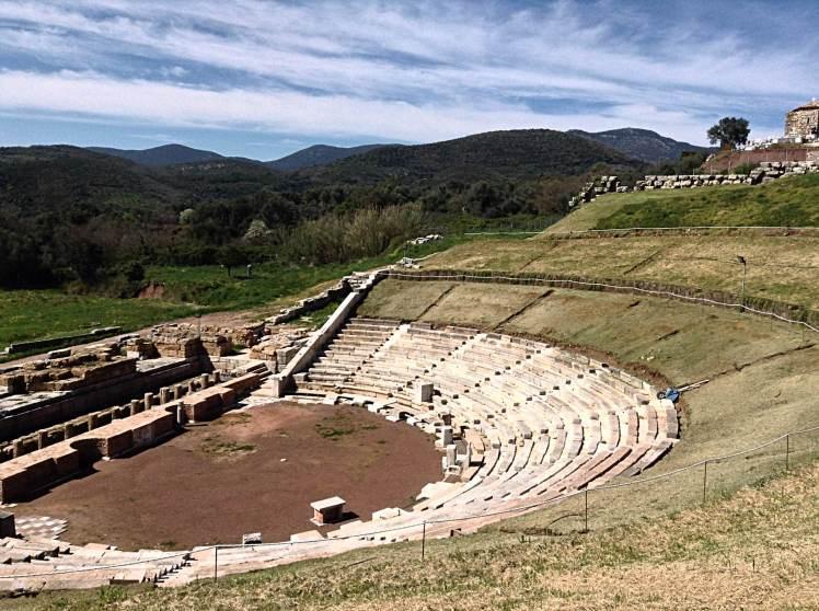 The restored theatre