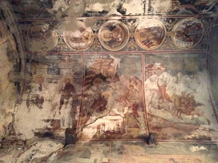 beautiful frescoes inside