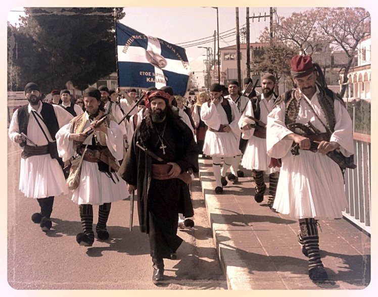 Dressed to kill for Greek Independence Day