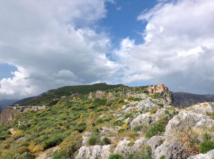 The upper town of Monemvasia