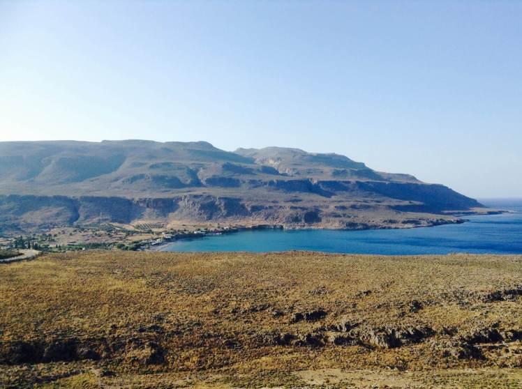 The wild east coast of Crete