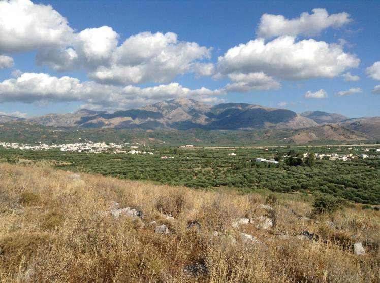 The incredible mountains of the Lasithi Plateau