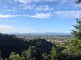 On the Via Francigena