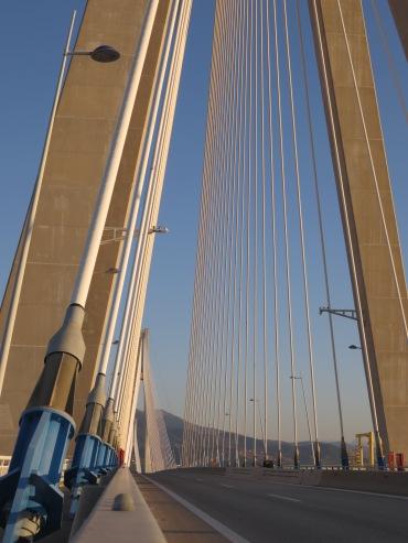 The bridge from Patras