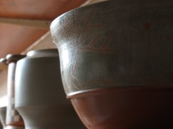 Attic style pottery