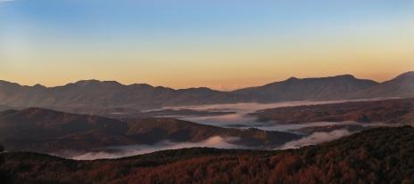 A beautiful Zitsa dawn