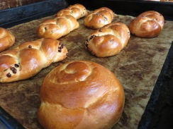 Golden brown and delicious when it comes out of the oven