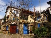 Thassos traditional village