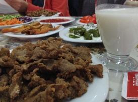 Edirne Cığer - deep fried calf's liver