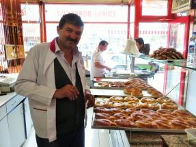First breakfast in Turkey