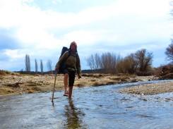 Luna Sandals - great for river crossings!