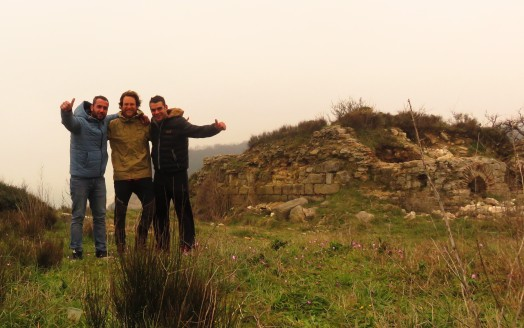 I got lost and these guys rescued me, before taking me to see the Ottoman walls which run from sea to sea