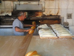 Typical village bakery