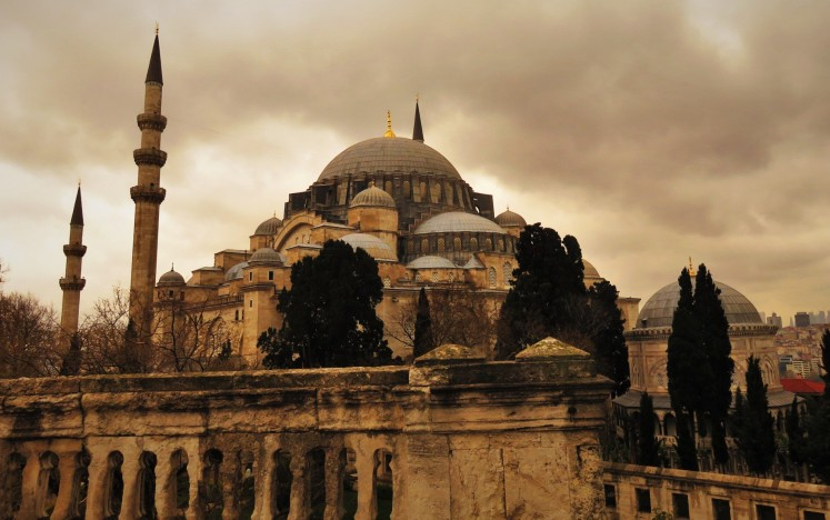 The Suleymanye Mosque