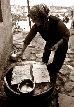 Gozleme - they call it a Turkish pancake