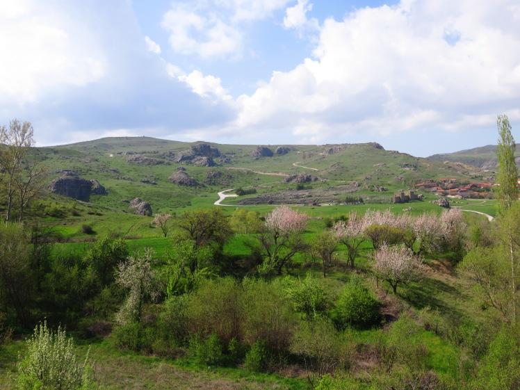 Hattuşaş in it's incredible setting