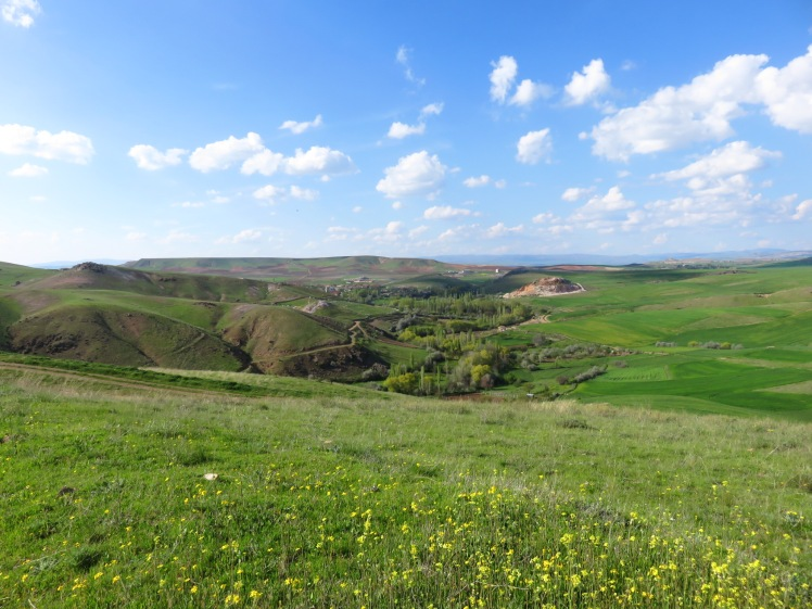 The beautiful landscape of Central Turkey